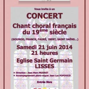Concert juin 2014