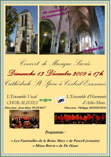 Affiche Corbeil-Athis